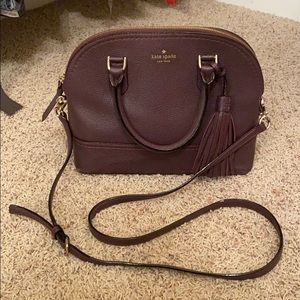 Kate Spade double handled purse w/shoulder strap